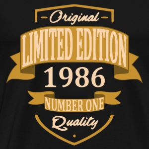 Limited Edition 1986 - T-shirt Premium Homme