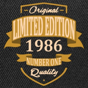 Limited Edition 1986 - Casquette snapback