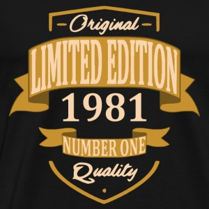Limited Edition 1981 - T-shirt Premium Homme