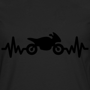 Motorbike is life, i love - Men's Premium Longsleeve Shirt