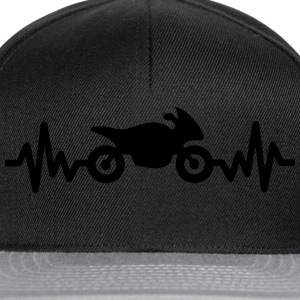 Motorbike is life, i love - Snapback Cap
