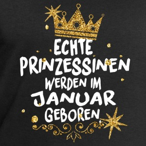 Real Princesses are born in January Long Sleeve Shirts - Men's Sweatshirt by Stanley & Stella