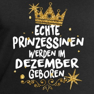 Real Princesses are born in December Long Sleeve Shirts - Men's Sweatshirt by Stanley & Stella