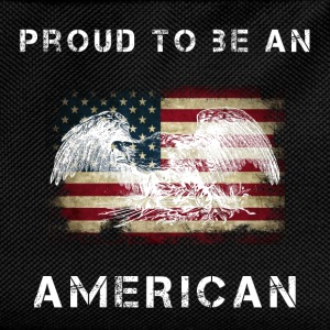 Proud to be an american Tops - Kinder Rucksack
