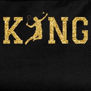 Badminton King T-Shirts - Kids' Backpack