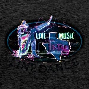 kl_linedance19a Tops - Men's Premium T-Shirt