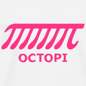Octopi - Geek Science Shirt Tröjor - Premium-T-shirt herr