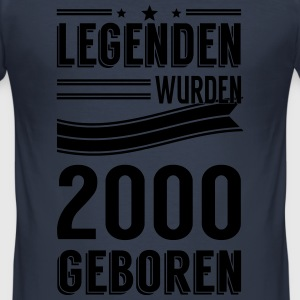 2000 - Männer Slim Fit T-Shirt