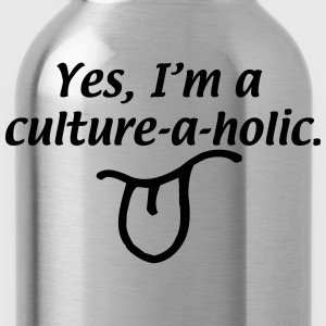 Culture-A-Holic T-Shirts - Water Bottle