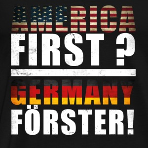 America First Germany  Pullover & Hoodies - Männer Premium T-Shirt