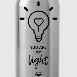 you are my light T-shirts - Drinkfles