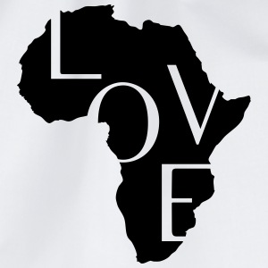 AFRICA LOVE Shirts - Drawstring Bag