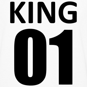 king 01 Tee shirts - T-shirt manches longues Premium Homme