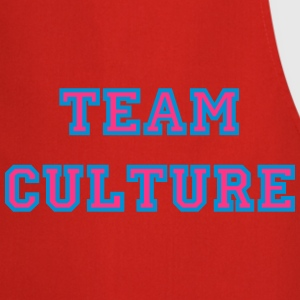 TeamCultureCyanMagenta T-Shirts - Cooking Apron