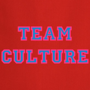 TeamCultureMagentaCyan T-Shirts - Cooking Apron
