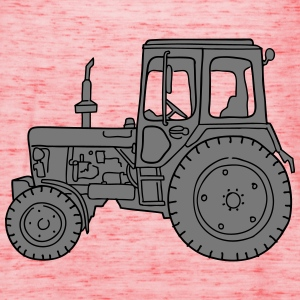 Tractor agriculture 2 T-Shirts - Women's Tank Top by Bella