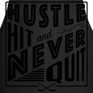Hustle Hit & Never Quit (Ice Hockey) T-Shirts - Cooking Apron