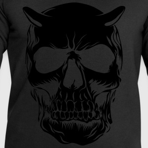 Big skull face - Sweat-shirt Homme Stanley & Stella