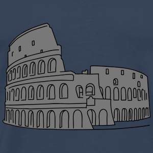 Colosseum in Rome 2 Long Sleeve Shirts - Men's Premium T-Shirt