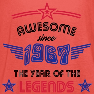 Awesome since 1967 - Psychedelic Edition T-Shirts - Frauen Tank Top von Bella