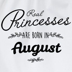 Real princesses are born in August T-Shirts - Drawstring Bag