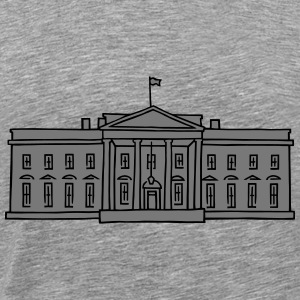 White House in Washington DC 2 Long Sleeve Shirts - Men's Premium T-Shirt