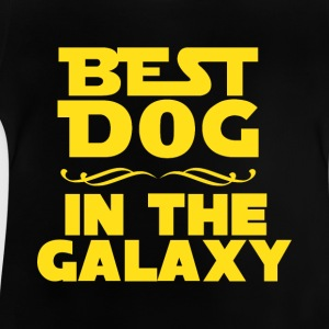 Best dog in the galaxy Langarmshirts - Baby T-Shirt