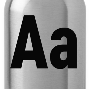 Letters Aa - Trinkflasche