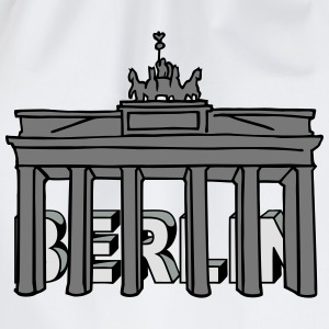 Brandenburg Gate in Berlin 2 Long Sleeve Shirts - Drawstring Bag