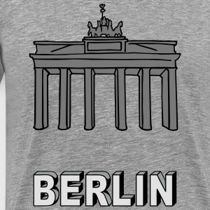 Brandenburg Gate in Berlin 2 Long Sleeve Shirts - Men's Premium T-Shirt