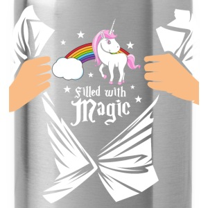 Einhorn - Filled with Magic T-Shirts - Water Bottle
