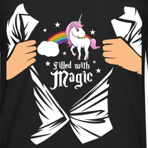 Einhorn - Filled with Magic T-Shirts - Men's Premium Longsleeve Shirt