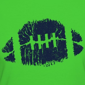 FOOTBALL KISS & LIPS Hoodies & Sweatshirts - Women's Organic T-shirt