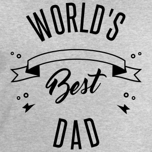 WORLD'S BEST DAD - Men's Sweatshirt by Stanley & Stella