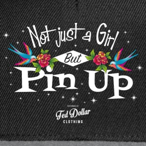 Not just a Girl but Pin Up Débardeurs - Casquette snapback