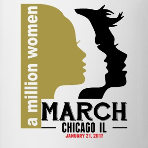 Women's March Chicago Il T-Shirts - Mug