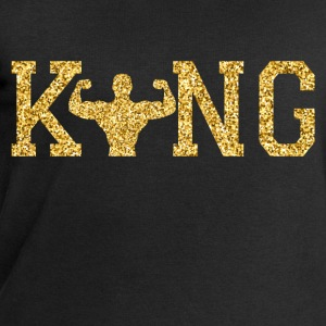 Weight lifting King Long Sleeve Shirts - Men's Sweatshirt by Stanley & Stella