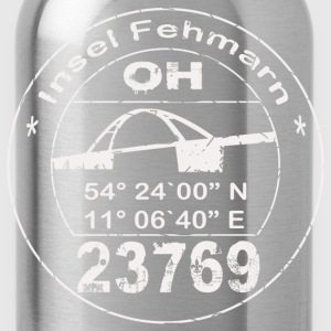 Fehmarn Stempel T-Shirts - Trinkflasche