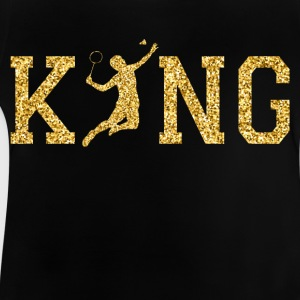 Badminton King Long Sleeve Shirts - Baby T-Shirt