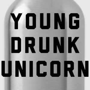 Young Drunk Unicorn - Trinkflasche