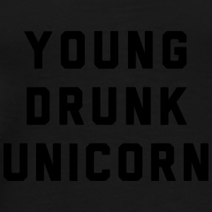 Young Drunk Unicorn - Männer Premium T-Shirt