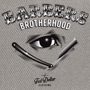 Barbers Brotherhood  Tee shirts - Casquette snapback