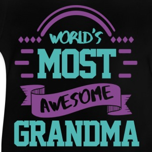 The best Grandma in the world Shirts - Baby T-Shirt
