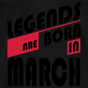 Legends March Baby Bodysuits - Men's Premium T-Shirt