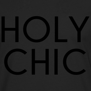 Holy Chic Funny Quote Débardeurs - T-shirt manches longues Premium Homme