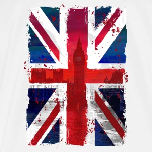 Union Jack - UK Flag - London Tops - Männer Premium T-Shirt