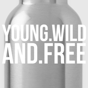 YOUNG AND FREE T-Shirts - Trinkflasche