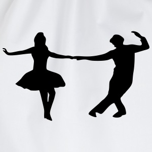 dancing couple Tops - Drawstring Bag
