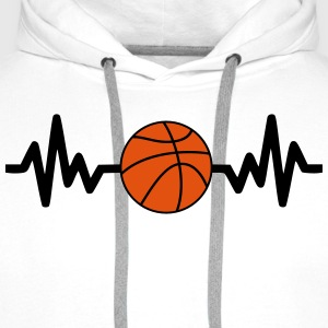 Basket,Basketball,Basket-ball,t-shirt - Men's Premium Hoodie