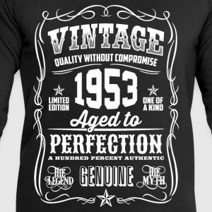 1953 Aged to Perfection White print - Men's Sweatshirt by Stanley & Stella